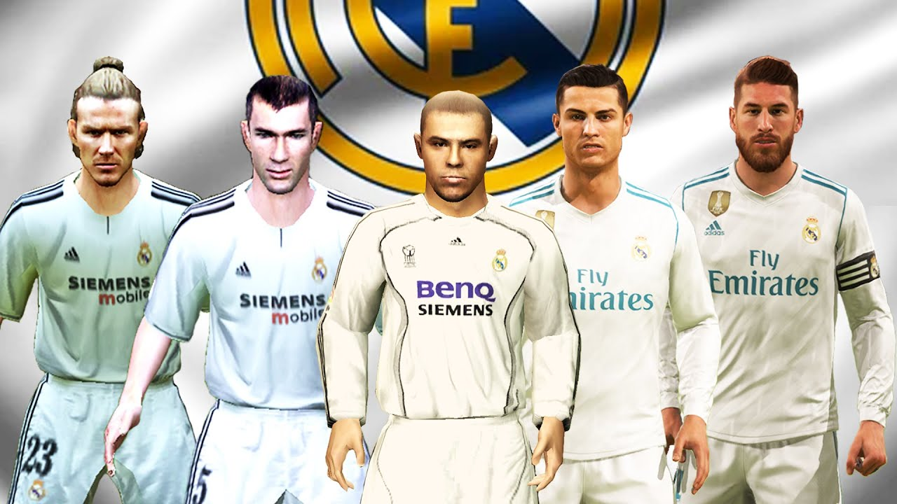 REAL MADRID IN EVERY FIFA (96-21)