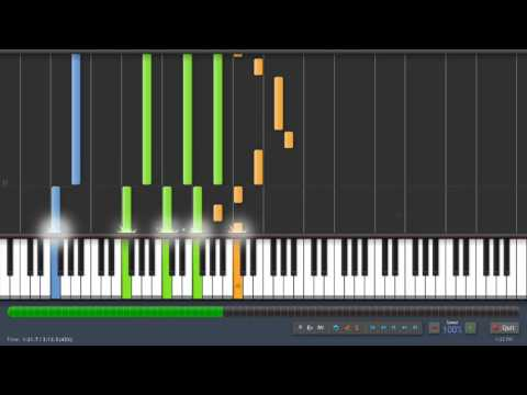 Ten Words Joe Satriani Piano Cover (Synthesia Cover)