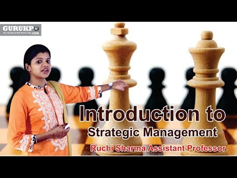 Introduction to Strategic Management(BBA)