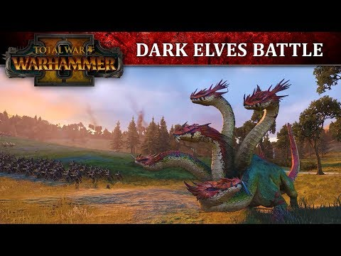 Total War: WARHAMMER 2 - Dark Elves Battle Let's Play