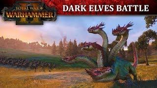 Total War: WARHAMMER 2 - Dark Elves Battle Let's Play