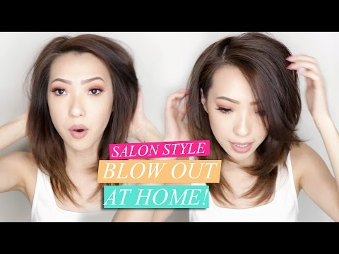 How to: Salon Style Blow Out at Home!