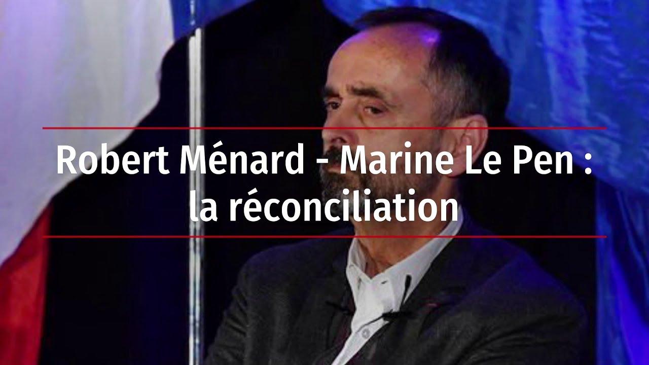 Ménard ne jure plus que par Marine, après l'avoir démolie 4 ans !