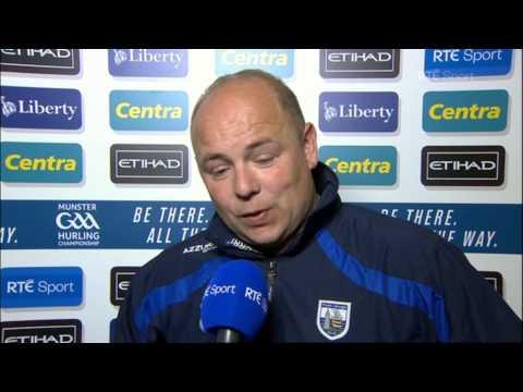 Derek McGrath on Waterford's victory over Cork  The Sunday Game
