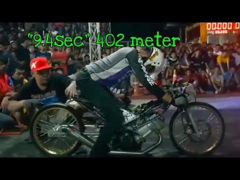 Aksi (Bang Sek, Thailand) Honda Sonic + Hb Cbr Joki Pro «Beng» di Ngo Street Drag Bike