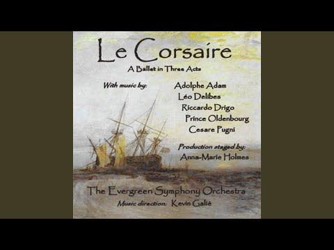 """Le Corsaire: Act II - """"7. Grand Pas: Coda: Ali, Medora, Conrad"""""""