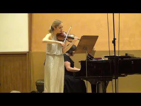 Johannes Brahms- Sonata for violin and piano No.3- IV part- Presto Agitato