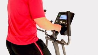 E1 Elliptical Cross-Trainer Features
