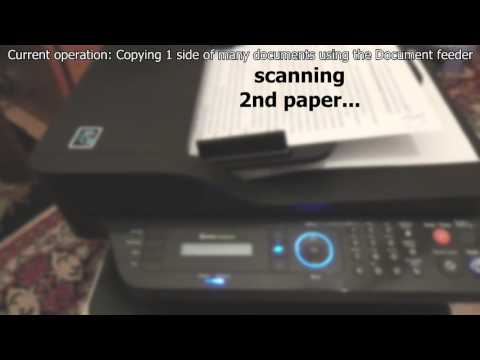 Samsung M2885FW (Copying, Document Feeder)