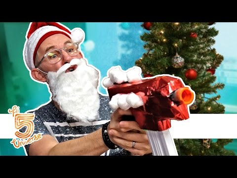 Nerf Battle: Santa vs Krampus!