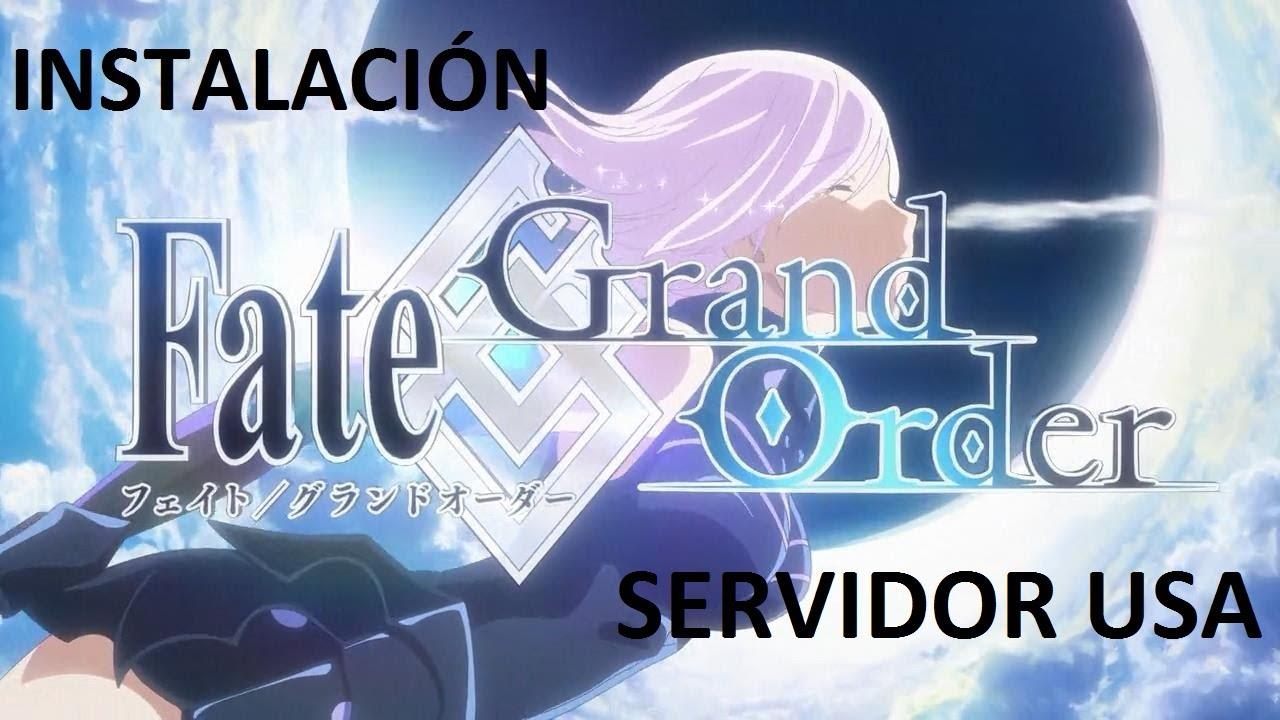 FATE GRAND ORDER USA ¿CÓMO INSTALARLO? ANDROID