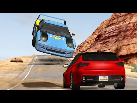 Extreme Close Call and Near Miss Compilation #5 - BeamNG Drive