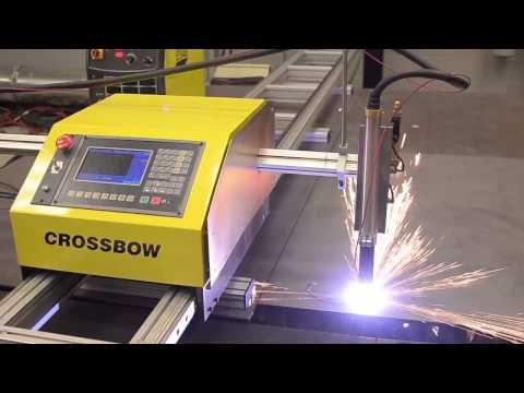ESAB Crossbow - портативная и экономичная машина резки с ЧПУ