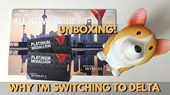 Why I'm Switching to Delta + Platinum Medallion Unboxing