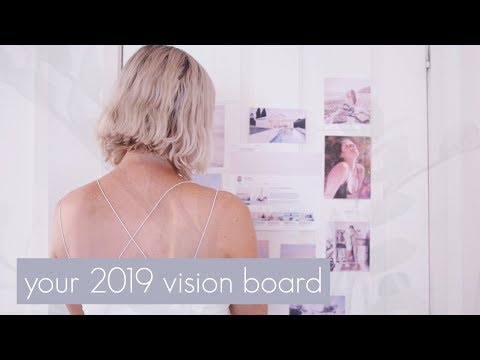 How to Create your 2019 Vision Board ☀️Reset Your Life Challenge