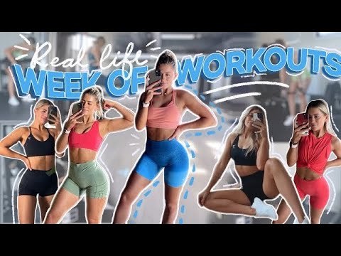 Download A FULL WEEK OF WORKOUTS! My Current Workout Routine
