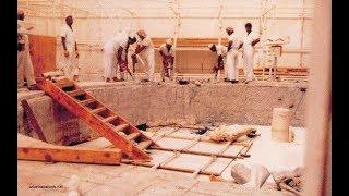 فيديو نادر جدا نشرح فيه كيف بنيت الكعبة المشرفة