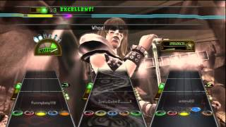 Guitar Hero Smash Hits Through the Fire and Flames by DragonForce Full Band PS3