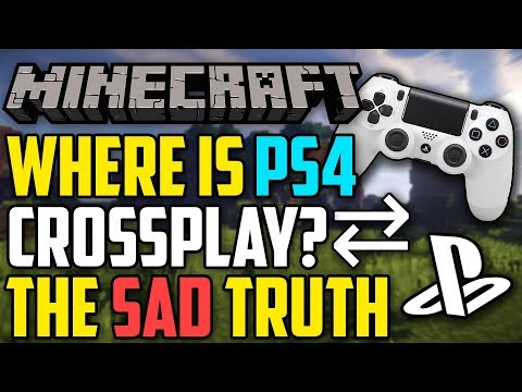 Minecraft PS4 Crossplay - The Sad Truth!