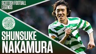Scottish Football Legends - Shunsuke Nakamura