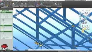 Advance Steel 2015.1 Урок 11 Планы и общие разрезы КМ