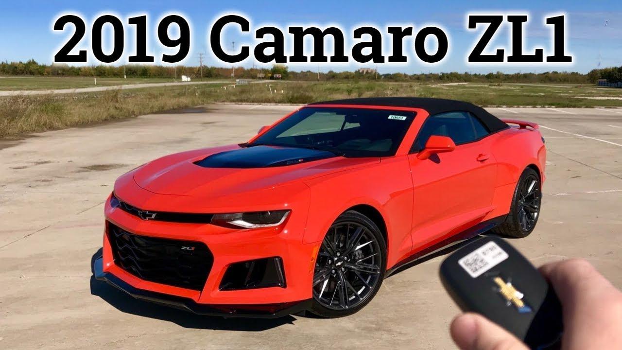 Review: 2019 Chevy Camaro ZL1 | Orange Crush MONSTER - YouTube