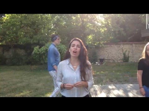 "Yael Naim - ""Coward"" in the garden featuring ten backing vocals !"