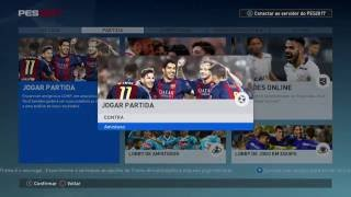 Pes 2017 Amistoso Real Madrid vs Barcelona Jogo Completo
