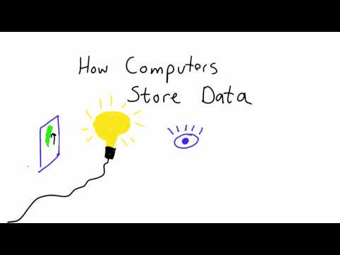 How Computers Store Data - Intro to Computer Science