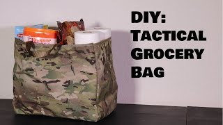 DIY Tactical Grocery Bag