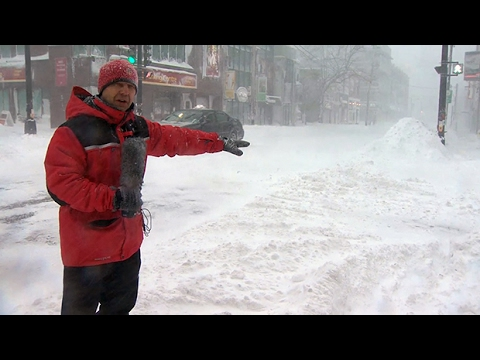 Powerful storm pounds Atlantic Canada