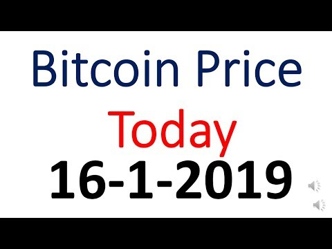 Bitcoin Price Today 16January 2019 | Bitcoin Price Today In Indian Rupees