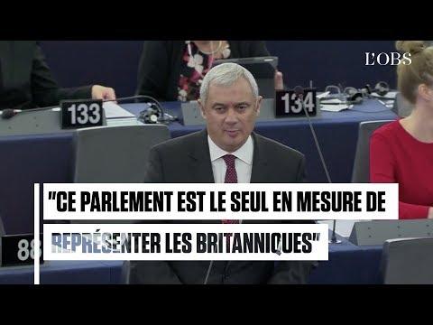 Boris Johnson critiqué par un vice-président du Parlement européen