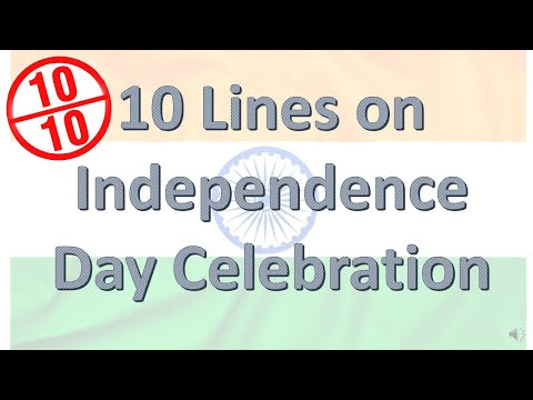 Repeat Independence day August 15 | Short Speech in English