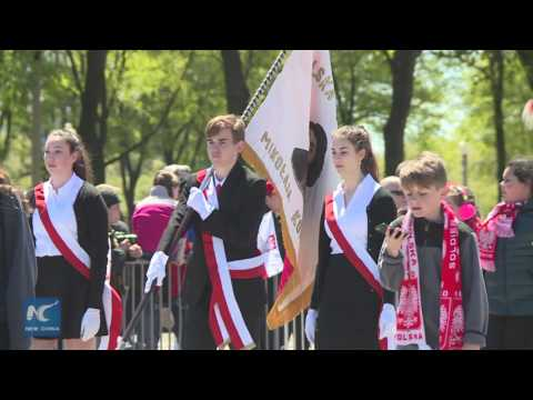 Polish Constitution Day Parade in Chicago