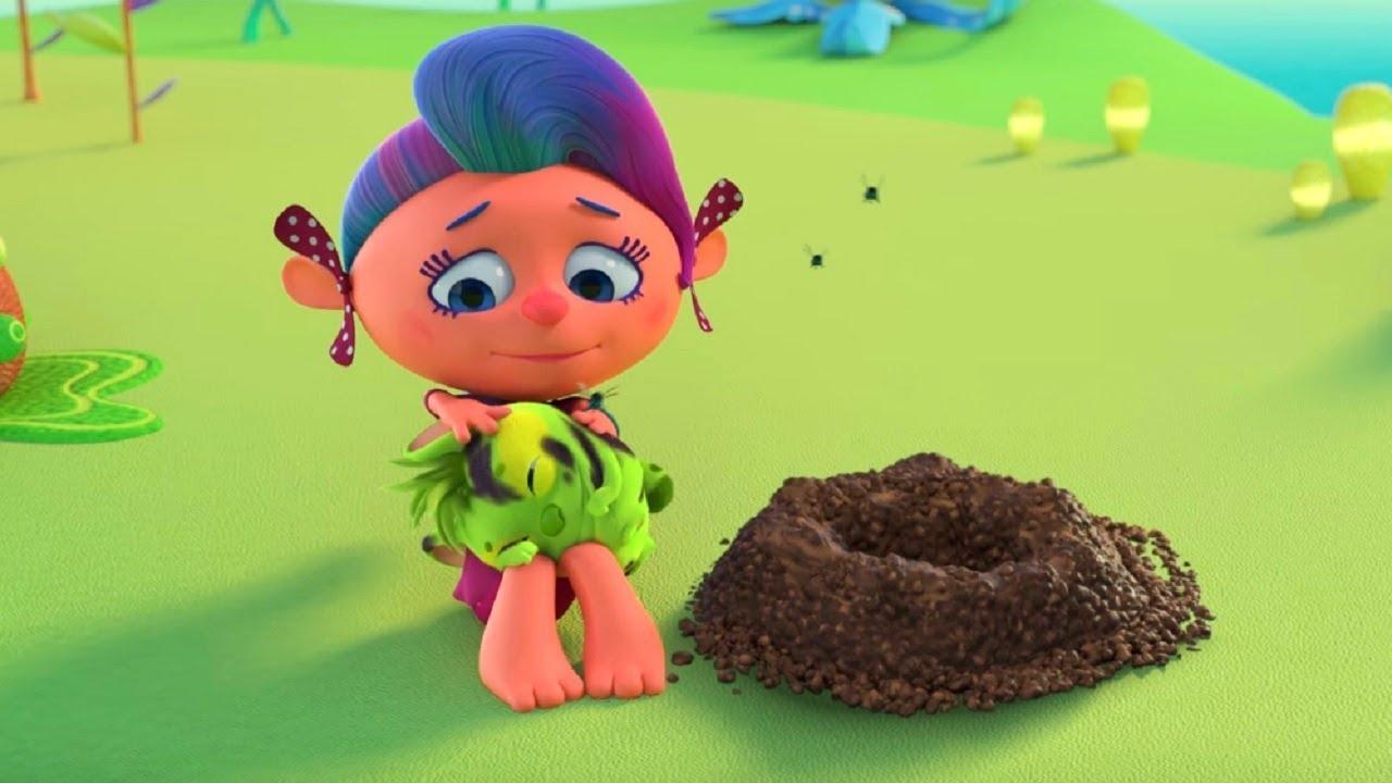 Особенный аромат – Монсики – мультфильм для детей – Чувства и эмоции