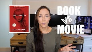 Red Sparrow - Book vs Movie