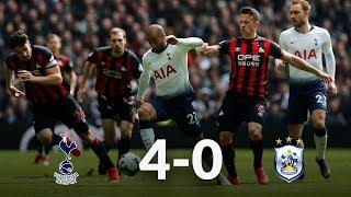 Tottenham vs Huddersfield 4-0 13/04/19 ● Match Statistic
