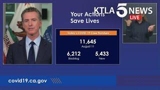 Coronavirus: Gov. Gavin Newsom addresses California's response to COVID-19
