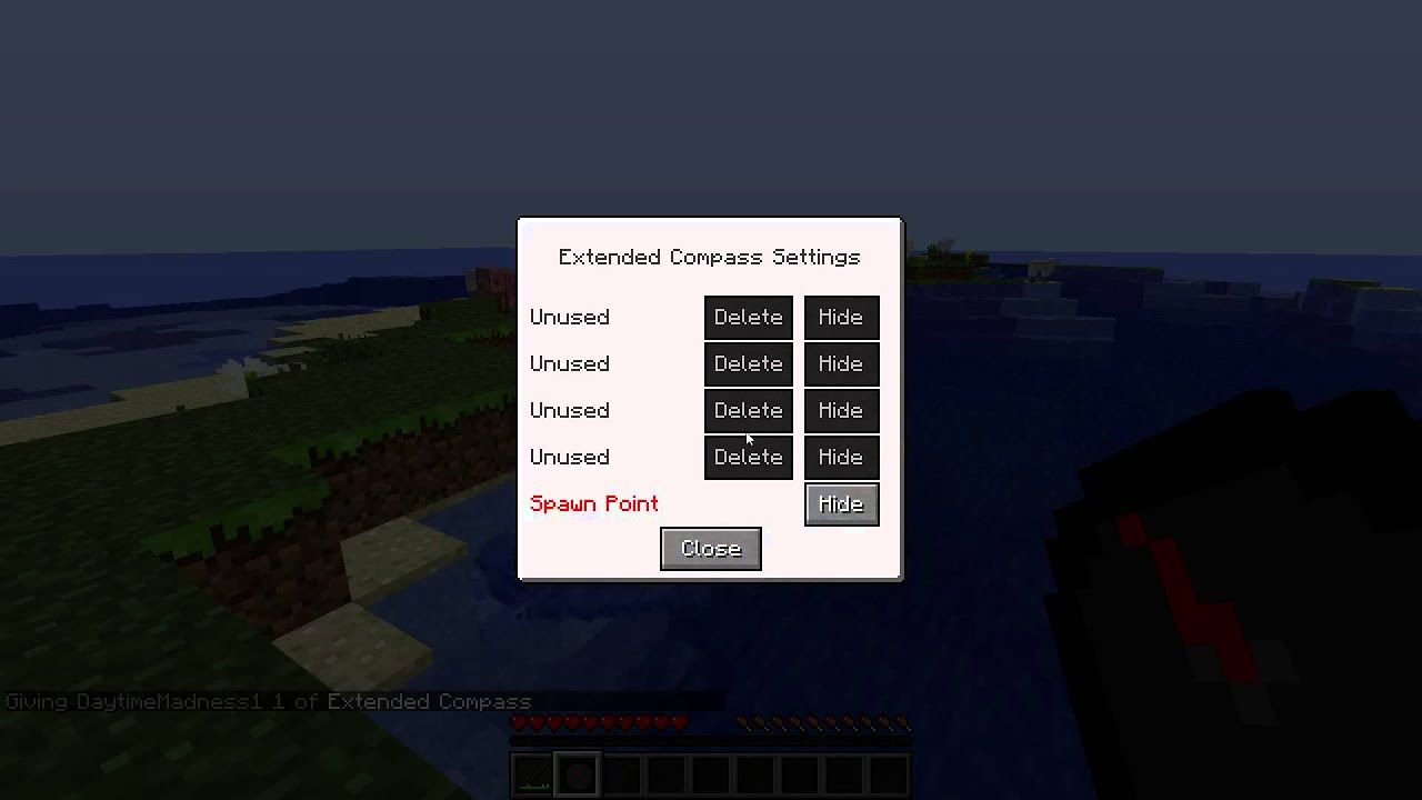 Extended Crafting Table Mod