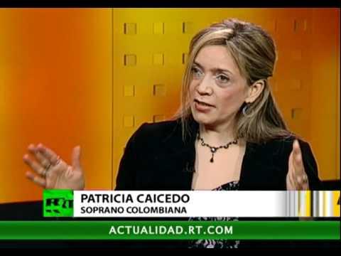 Patricia Caicedo en A SOLAS en Russia Today