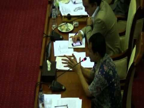 RDPU Komisi I dan Masyarakat Telekomunikasi Indonesia - 10 november 2014