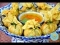 How to Make Thai Money Bags (Fried Bag Dumplings) ถุงทอง (黃金炸蝦福袋)