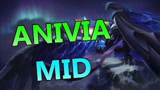 Blackfrost Anivia Mid - Full Gameplay Commentary