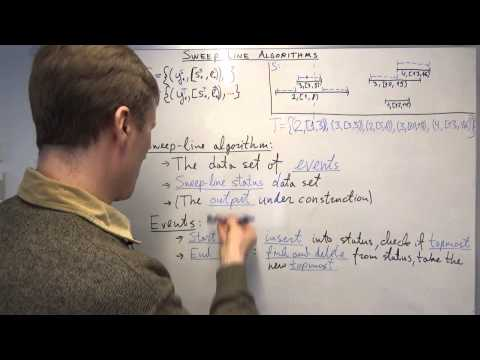 AALG8: Sweep-line algorithms, an example