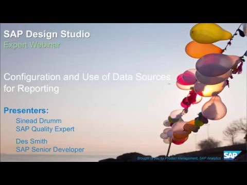 SAP Design Studio: Configuration and Use of Data Sources for Reporting