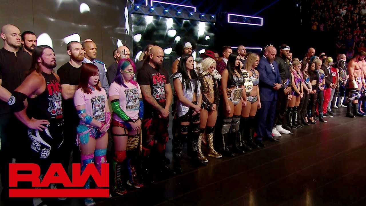 WWE stands with Dayton and El Paso: Raw, August 5, 2019