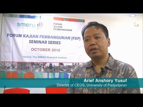 Indonesia's Economic Development under Jokowi | Dr. Arief Anshory Yusuf (CEDS UNPAD)