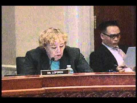 Rep. Zoe Lofgren's 2nd Q&A Session during Library of Congress Oversight Hearing