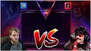 Drdisrespect vs hutch | first hot drops challenge on fortnite (10/8/18)
